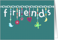 Charming Friendship - Happy Friendship Day card