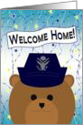Welcome Home! Air Force - Female Officer Uniform Bear card