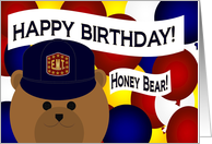 Honey Bear/Husband -Happy Birthday-Favorite Emergency Medical Technician card