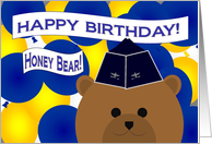 Honey Bear/Husband - Happy Birthday to My Favorite Air Force Officer! card