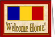 Welcome Home Marine Corps Hero! - Marine Corps Heroism Medal Representation card