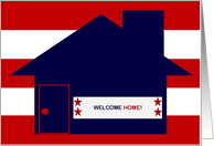 Welcome Home! - Military Welcome Home Card