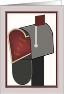 Valentine to Grandchildren - From Me to You in Your Mailbox card