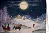Going Home Yule CARD