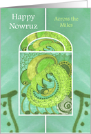 Happy Nowruz Across the Miles Springtime Splendor card