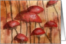 Mushrooms #12 - Blank Note Card