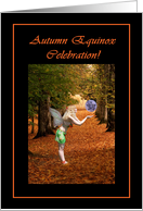 Autumn Equinox Celebration Invitation card