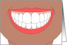 Congratulations for Getting Your Braces Off! Smile Wide and Often! card