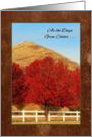 Autumn Greetings Thinking of You Warms My Heart card