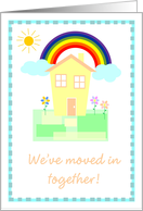 We've Moved In Together card