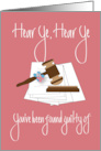 Legal Assistant / Paralegal Day, Job Well Done with Flowers card