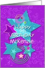 Happy Birthday Amazing Girl customize age and name card