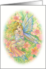 Congratulations on your Pregnancy - Mother and baby Fairies by Molly Harrison card
