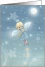 Little Star Angel Christmas Card