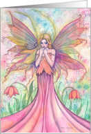 Fairy Art Card Thinking of You - Molly Harrison Fantasy Art card