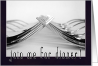 Dinner Date Invitation card