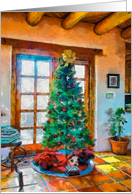 Christmas in Taos card