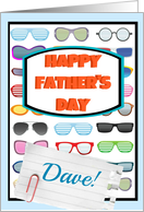 Happy Father's Day Dave, cool sunglasses! card