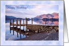Birthday Lake District of Derwentwater, Custom Card