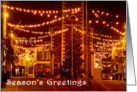 Keswick Christmas lights, Season's Greetings - The Lake District card