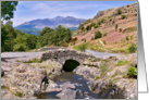 The Lake District - Ashness Bridge - Cumbria Landscape - blank card