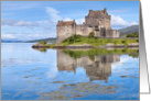 A Scottish icon - Eilean Donan Castle - blank card