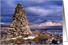Christmas, winter scene, Ingleborough, The Yorkshire Dales card