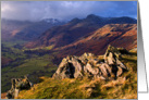 The Lake District, Cumbria - Great Langdale - Blank card