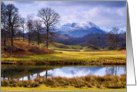 Wetherlam from the River Brathay - The Lake District - Customizable card