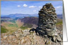 Valley view from Dale Head, The Lake District - Customisable card