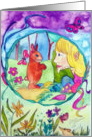 Ostara pagan spring celebration card