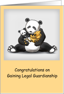 Congratulations, Gaining Legal Guardianship, Panda, Cubs card