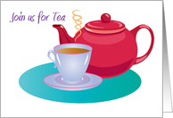 Join us for Tea card