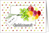 Dutch happy birthday for grandma- gefeliciteerd voor oma card