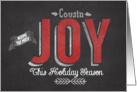 Wishing you Much Joy this Holiday Season Cousin card
