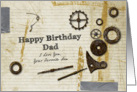 Have Birthday Dad I Love You Your Favorite Son card