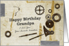 Have Birthday Grandpa I Love you Your Favorite Grandson card