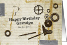 Have Birthday Grandpa We Love you card