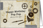 Have Birthday Pop Pop All of Us love you card
