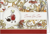 Time For Tea Invitation card