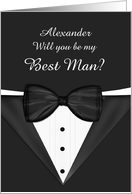 Will you be my Best Man Customizable card