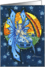 Blank Card - The Keeper of Stars Fairy of the Night card