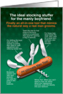 Ultimate Man Tool, Funny Christmas for Boyfriend card