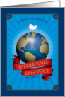 International Day of Peace card