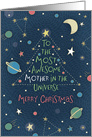 Most Awesome Mother in the Universe, Merry Christmas card