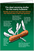 Ultimate Man Tool, Funny Christmas for Husband card