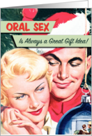 Oral Sex Humor Card