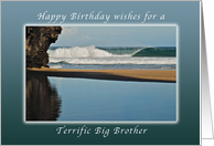 Wishes for a Happy Birthday for a Big Brother, Kauai, Hawaii card