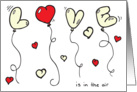 Love is in the Air (So hold your breath!) Happy Valentine's Day card