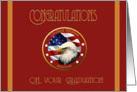 Military Congratulations Marine Basic Training Graduation card